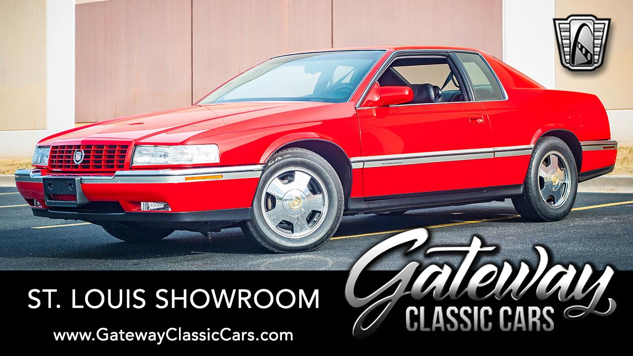 1995 cadillac eldorado for sale gateway classic cars 1993 cadillac eldorado touring coupe