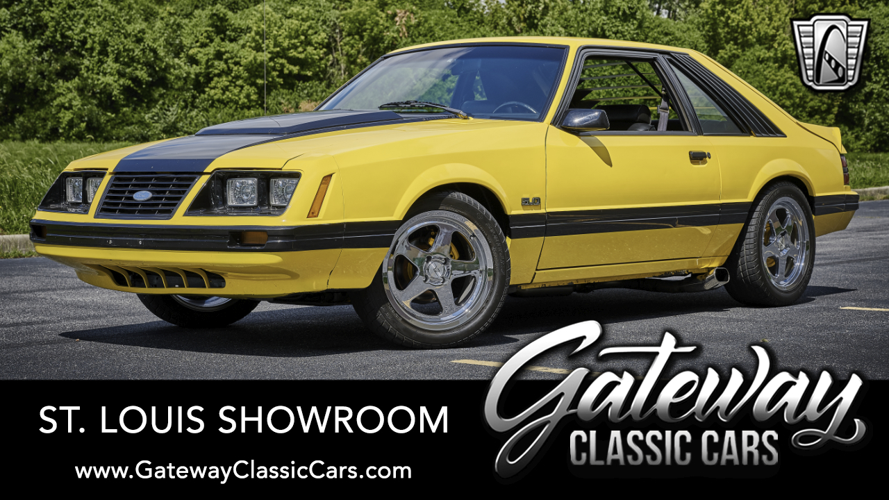 Used 1983 Ford Mustang GT