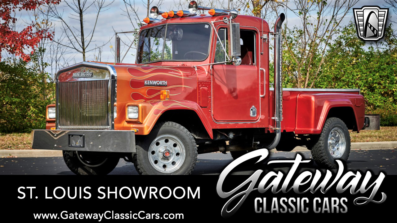 Used 1983 Mini Big Rig Ford F150 Mini Kenworth