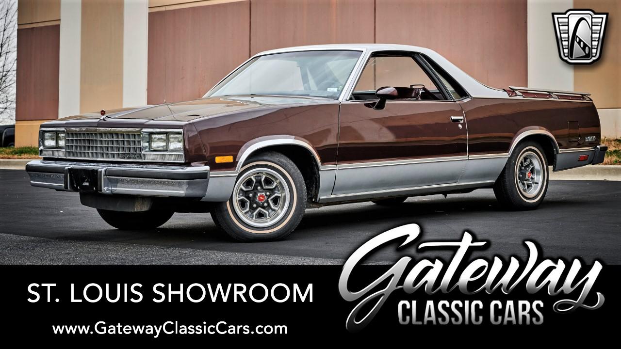 Used 1985 Chevrolet El Camino