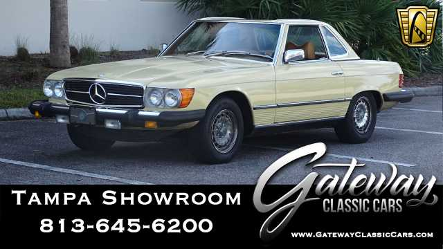 1979 Mercedes-Benz 450SL<br><span style='font-size: large; font-style: italic'><b>  </b></span>