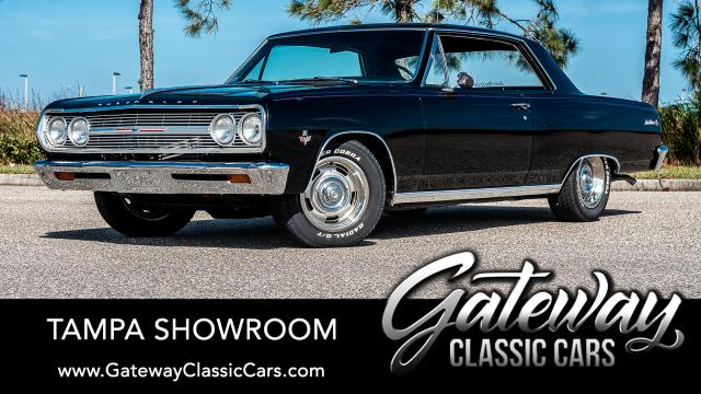 1965 Chevrolet Chevelle<br><span style='font-size: large; font-style: italic'><b>Malibu SS </b></span>