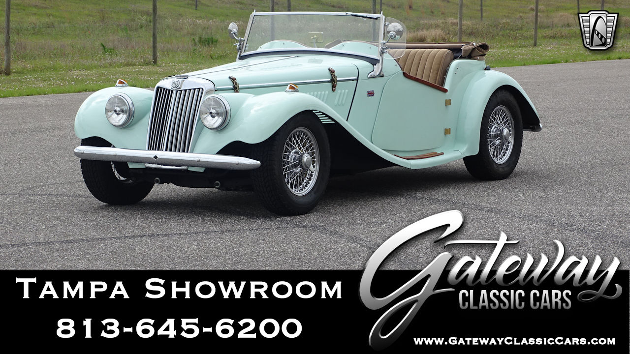 Used 1954 MG TF