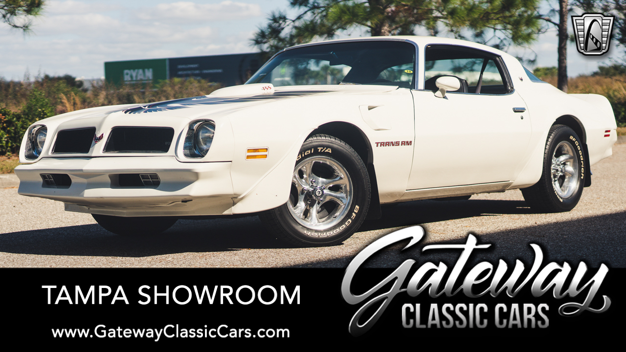 Used 1976 Pontiac Firebird Trans-Am