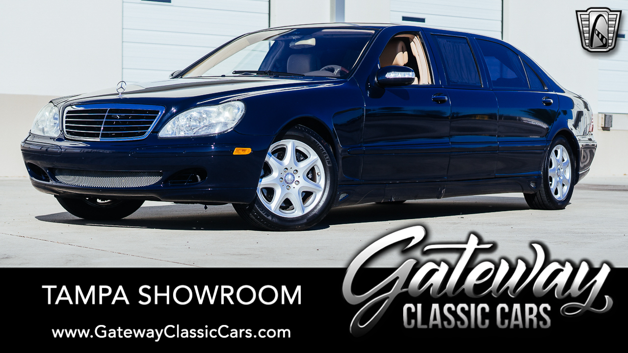 2004 Mercedes-Benz S500 4-Matic