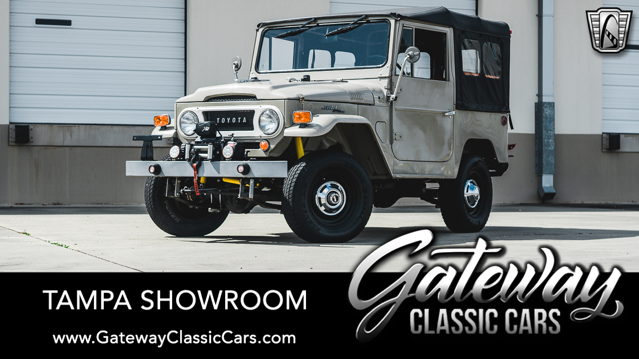 Used 1969 Toyota Land Cruiser