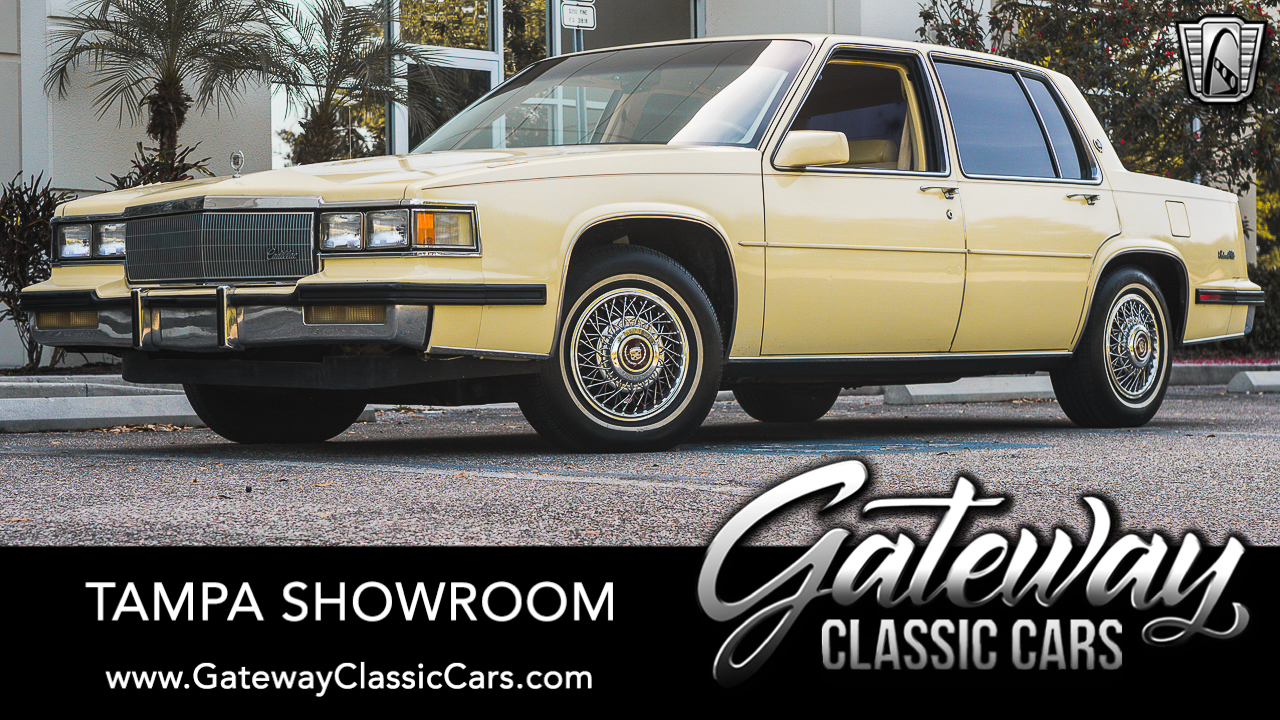 Used 1985 Cadillac DeVille
