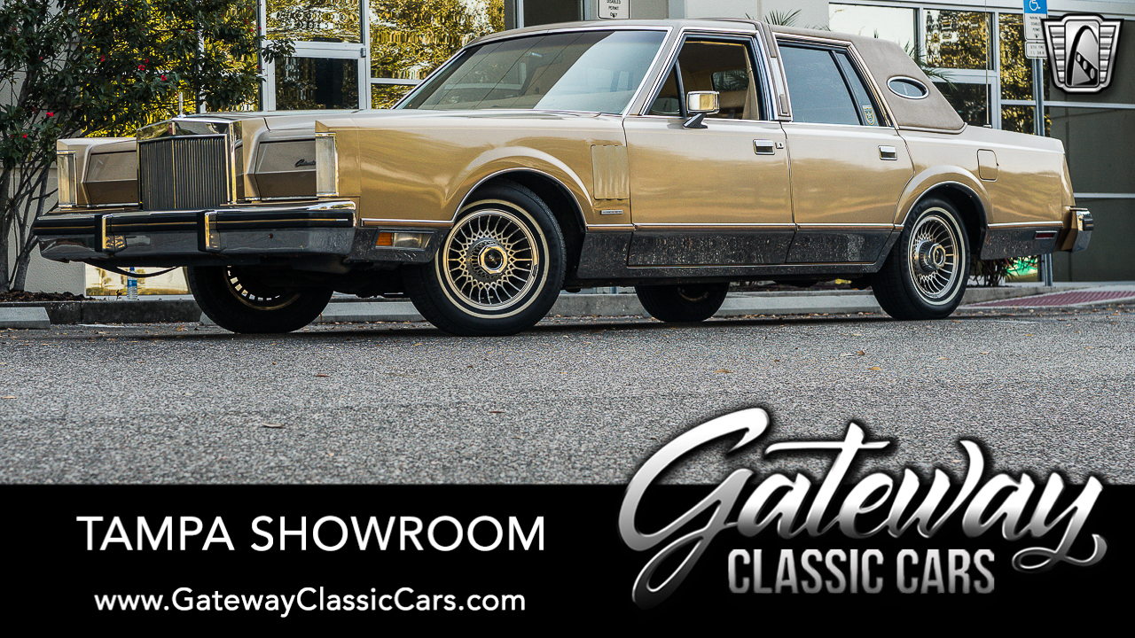 Used 1983 Lincoln Continental