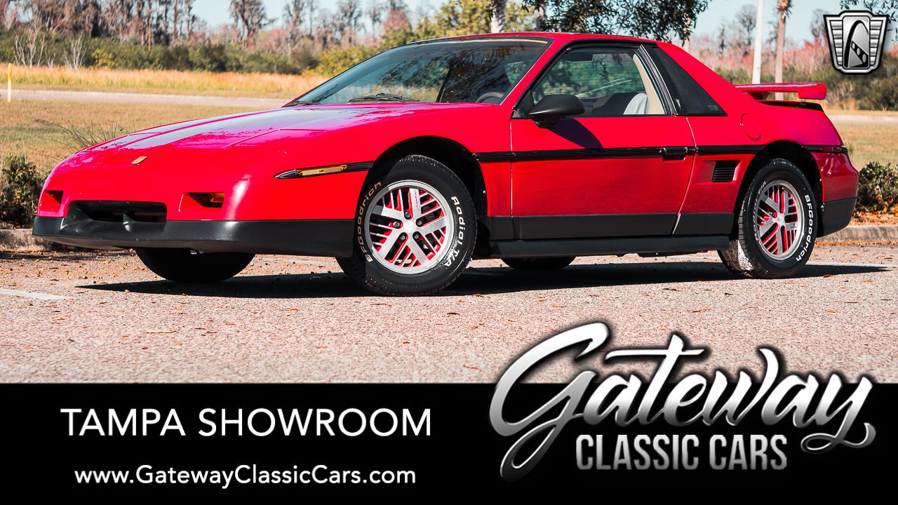 Used 1986 Pontiac Fiero