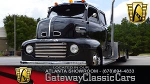 1948 Ford F6 COE Ramptruck