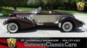 1936 Auburn Speedster  Tribute