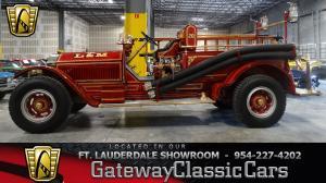 1914 American LaFrance Fire Truck