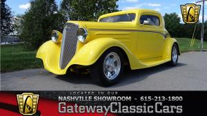 1934 Chevrolet 3 Window